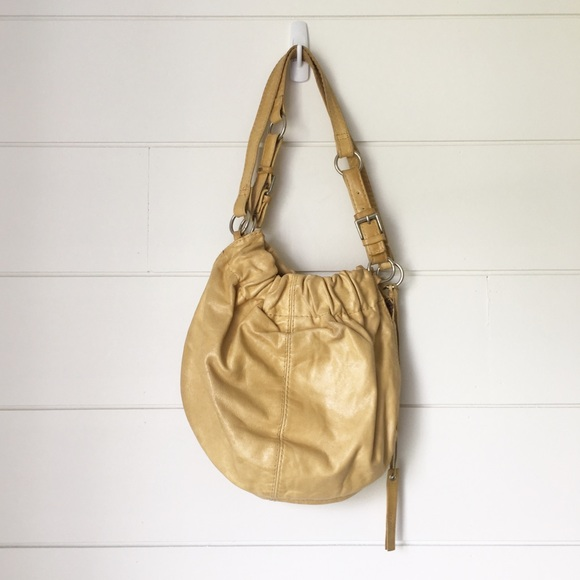 Aldo Handbags - ALDO Yellow Leather Shoulder Bag